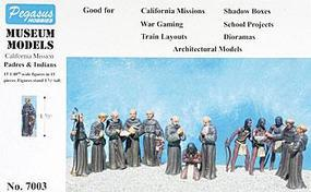 Pegasus 1/48 California Mission Padres & Indians (15)