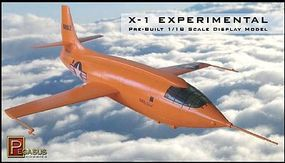 Pegasus X1 Experimental Aircraft (Assembled) Pre-Built Plastic Model Airplane 1/18 Scale #8902