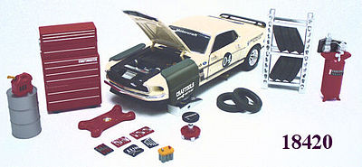 Garage Repair Accessory Set Diecast Model Car Parts Vehicle
