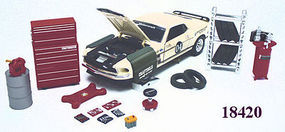 Phoenix-Toys Garage Repair Accessory Set Diecast Model Car Parts Vehicle Accessory 1/24 scale #18420