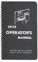 PI GP38 Operators Manual Model Railroading Book #194