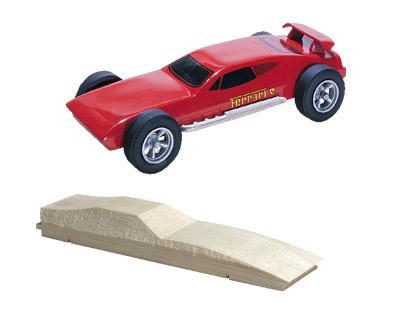 Ferrari pinewood derby cars