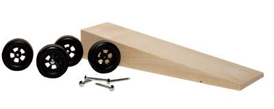 Pine Car Pinewood Derby Wedge Car Kit -- Pinewood Derby Car -- #p369