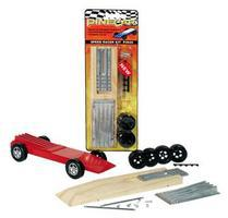 Pine-Car Pinewood Derby Speed Racer Kit Pinewood Derby Car #p3935