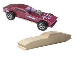 Pine-Car Pinewood Derby GT Racer Pre-Cut Designs Pinewood Derby Car #p3965
