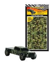 Pine-Car Pinewood Derby Camouflage Custom Body Skin Pinewood Derby Decal and Finishing #p3978
