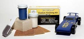 Pine-Car Pinewood Derby Finishing Kit Indy Blue Pinewood Derby Car #p403