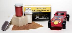 Pine-Car Pinewood Derby Finishing Kit Competition Red Pinewood Derby Car #p409