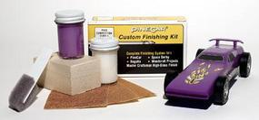 Pine-Car Pinewood Derby Finishing Kit Competition Purple Pinewood Derby Car #p410