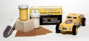 Pine-Car Pinewood Derby Finishing Kit Baja Yellow Pinewood Derby Car #p411