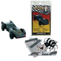 Pine-Car Pinewood Derby Designer Kit Batcar Pinewood Derby Car #p415