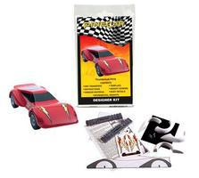 Pine-Car Pinewood Derby Designer Kit Thunderbolt Pinewood Derby Car #p416