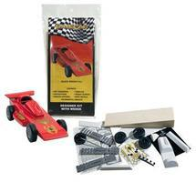 Pine-Car Pinewood Derby Complete Designer Kit Black Widow Pinewood Derby Car #p420