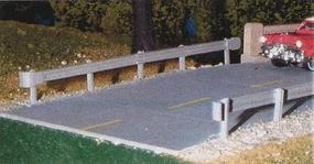 Pike-Stuff Highway Guard Rail Kit (3) HO Scale Model Railroad Building Accessory #12
