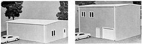 Pike-Stuff Three-Size Yard Office Kit HO Scale Model Railroad Building #16