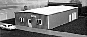 Pike-Stuff Multi Purpose Building Kit HO Scale Model Railroad Building #5005