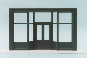 Pike-Stuff 20 Store Front (Recessed Entry) HO Scale Model Railroad Building Accessory #st1
