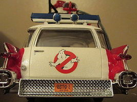 Polar-Lights Ghostbuster Ecto-1 Vehicle (Snap) Plastic Model Car Kit 1/25 Scale #914