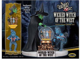 Polar-Lights Wicked Witch of the West, Resin Figure/Painted Plastic Model Celebrity Kit #942