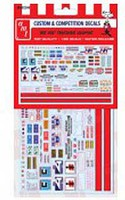 Polar-Lights Big Rig Graphics Decals Plastic Model Vehicle Decal 1/25 Scale #mka022