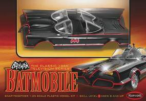 Polar-Lights Snap 1966 TV Batmobile Snap Tite Plastic Model Car Kit 1/25 Scale #pol824