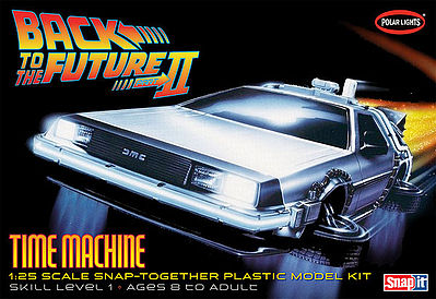 Polar Lights Back to the Future II -- Plastic Model Car Kit -- 1/25 Scale -- #pol925
