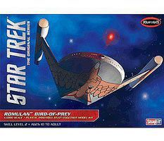 Polar-Lights Star Trek Romulan Bird of Prey Snap Tite Plastic Model Figure Kit 1/1000 Scale #pol934-12