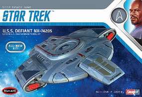 Polar-Lights Star Trek USS Defiant Science Fiction Plastic Model Kit 1/1000 Scale #pol952