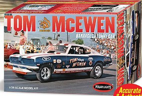 Polar-Lights Tom Mongoose McEwen 1969 Barracuda Funny Car Plastic Model Car Kit 1/25 Scale #pol953