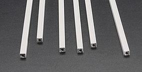 Plastruct Square Tube ABS 3/16 (6) Model Scratch Building Plastic Tubing #90202