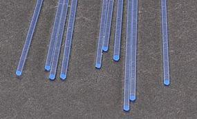 Plastruct Rod Round Fluorescent Blue 1/16 (10) Model Scratch Building Plastic Rods #90251