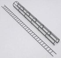 Plastruct CL-16 SAFETY CAGE LADDER Model Railroad Scratch Supply #90434