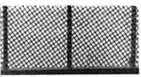 Plastruct Chain Link Fence HO Scale Model Railroad Accessory #90451