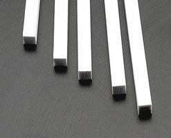 Plastruct Square Rod Styrene 1/4x1/4x10 (5)