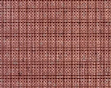 N Spanish Roof Tile Plastic Pattern Sheet (2)
