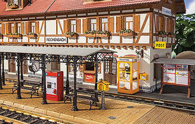 Pola Train Stn Accessories - G-Scale