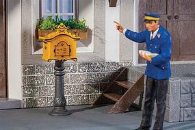 Pola Letterbox with Post G Scale Model Railroad Figure #333217