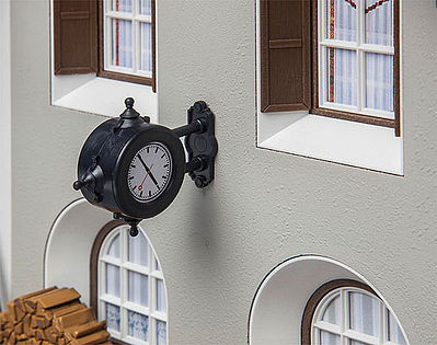 Pola Wall Clock -- G Scale Model Railroad Building Accessory -- #333220