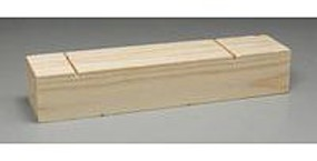 Pine-Pro Pine Block Plain Pinewood Derby Tool and Accessory #10033