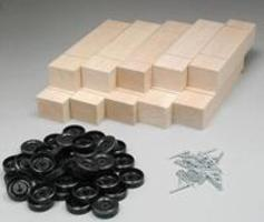 Pine-Pro Block Kits Bulk (10) Pinewood Derby Car #10051