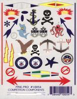 Pine-Pro Anchors Aweigh Decal Pinewood Derby Decal and Finishing #10054