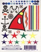 Pine-Pro Jolly Roger Pirate Decals