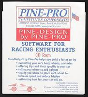 Pine-Pro Pine-Design CD Rom Performance Software