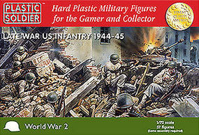 Plastic-Soldier Late WWII US Infantry 1944-45 (57) Plastic Model Military Figure 1/72 Scale #7218