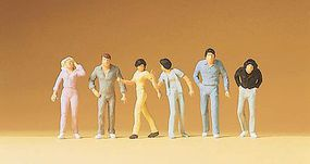 Preiser Pedestrians Passers-By HO Scale Model Railroad Figures #14001