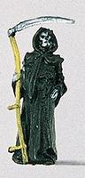 Preiser Grim Reaper with Sickle Model Railroad Figure HO Scale #29004