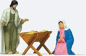 Preiser The Holy Family Model Railroad Figure HO Scale #29091