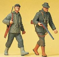Preiser Walking Hunters Model Railroad Figures G Scale #45136