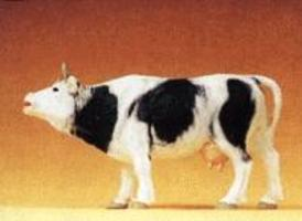 Preiser Cow Mooing with Mouth Open Model Railroad Figure 1/25 Scale #47002