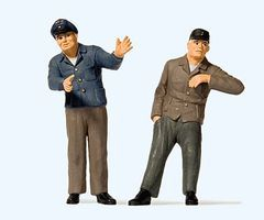Preiser Engine Driver & Fireman #1 Model Railroad Figures 1/32 Scale #63102
